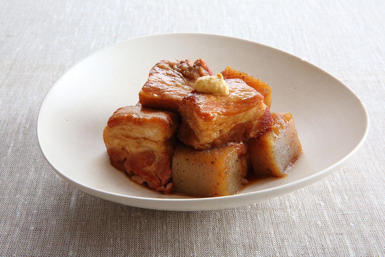 豚のもろみ角煮