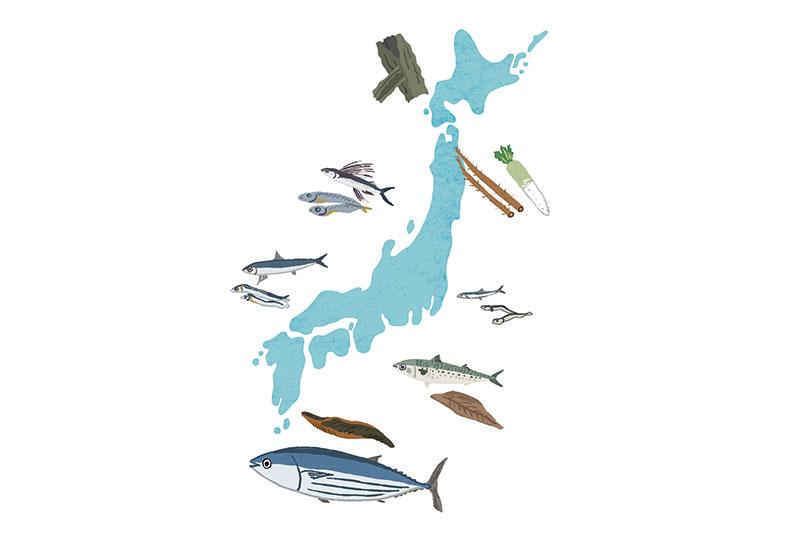 多様なだしを育んだ日本の風土