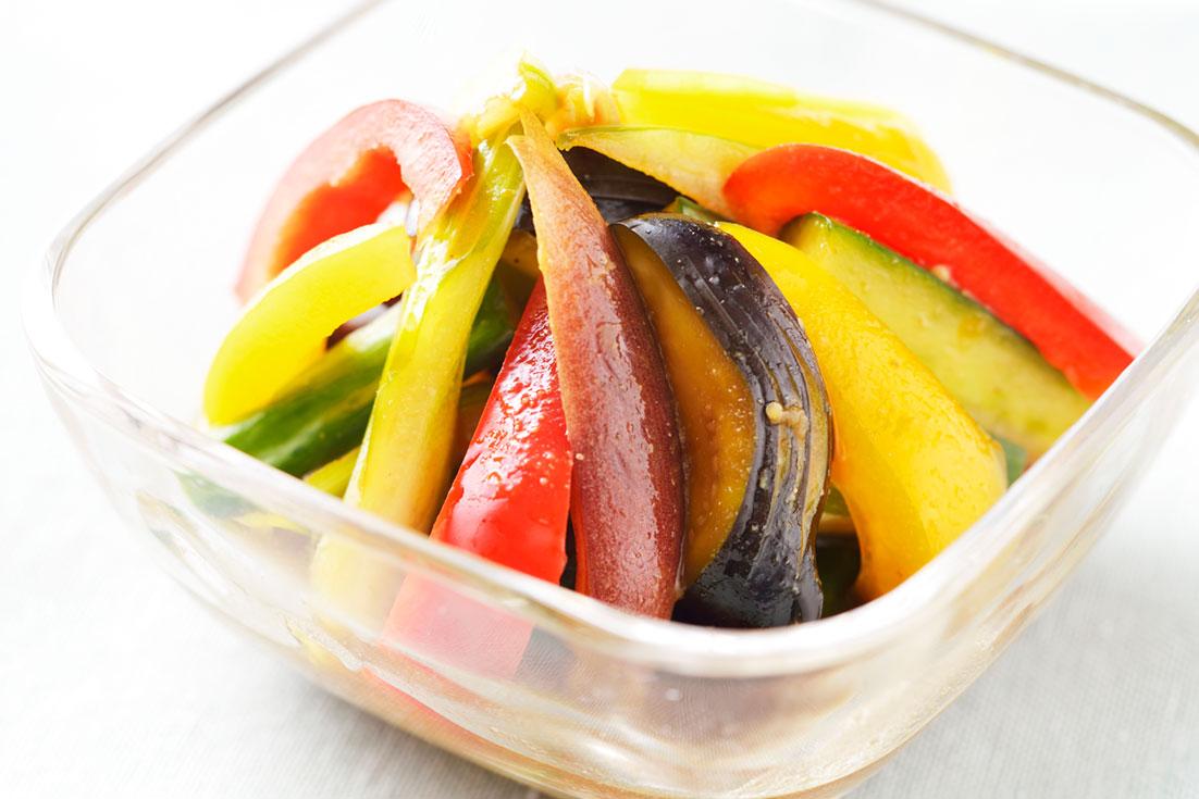 野菜のもろみ漬け